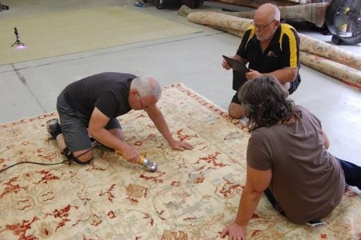 Photos From Introduction To Rug Repairthe Cl Was Held At Robert Mann Rugs In Devner