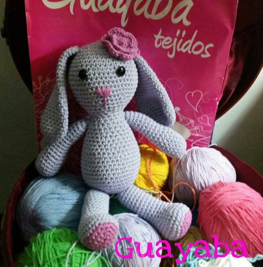 #Guayaba #tejidos #colores #handmade #amigurumis #conejita #crochet