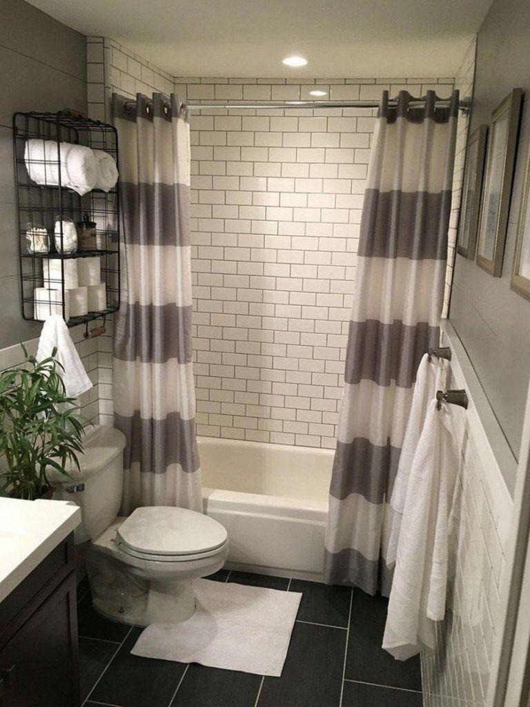 51 Most Popular Small Bathroom Designs On a Budget 2019 #smallbathroomremodel