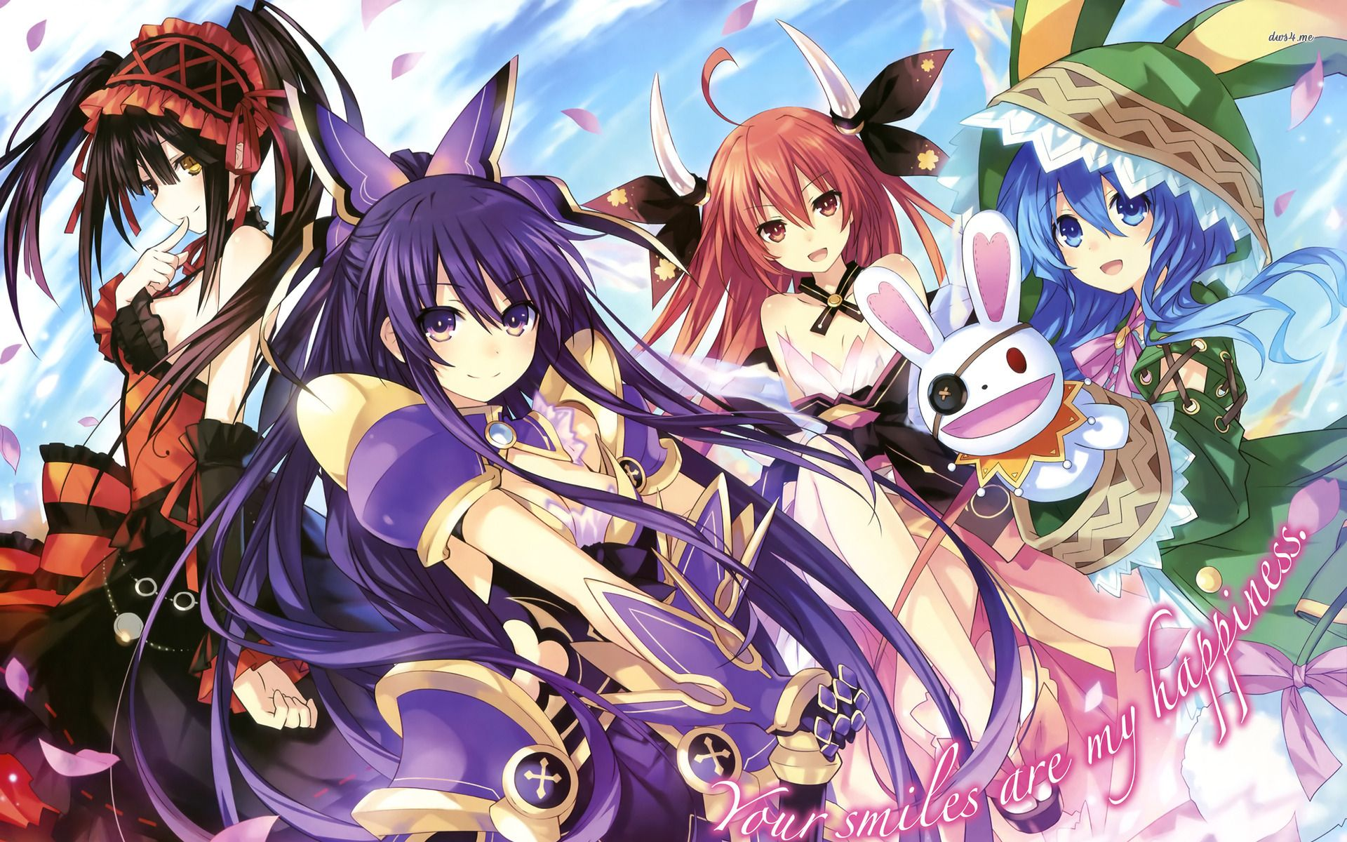 anime a· download date a live anime wallpaper gallery
