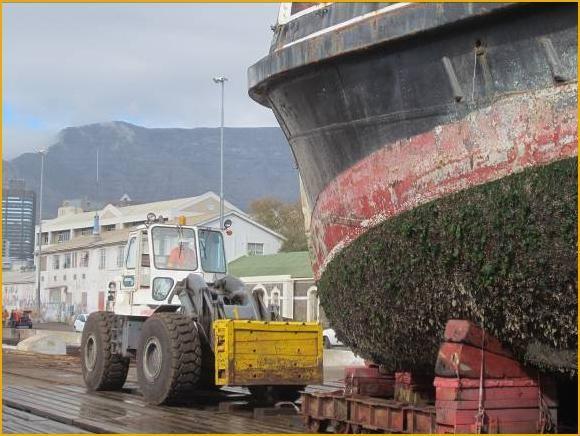 ST Alwyn Vintcent coal fired steam pilot tug
