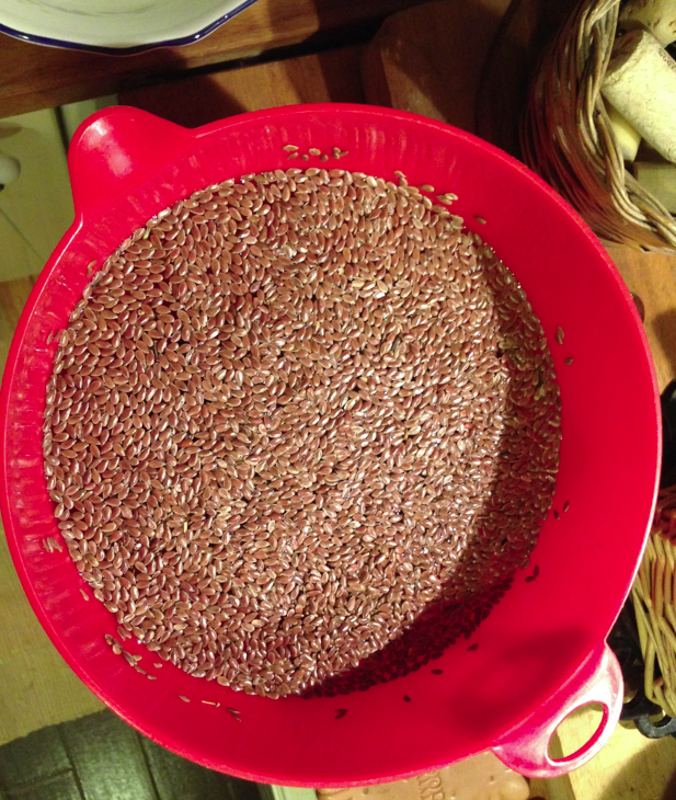 L'essiccazione e le tartine di semi di lino (1)
