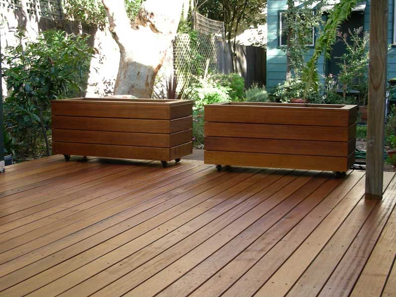 New Front And Backyard Project Planter Box Building