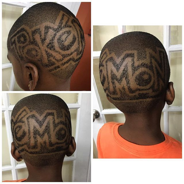 Pin On Kids Haircut With Designs