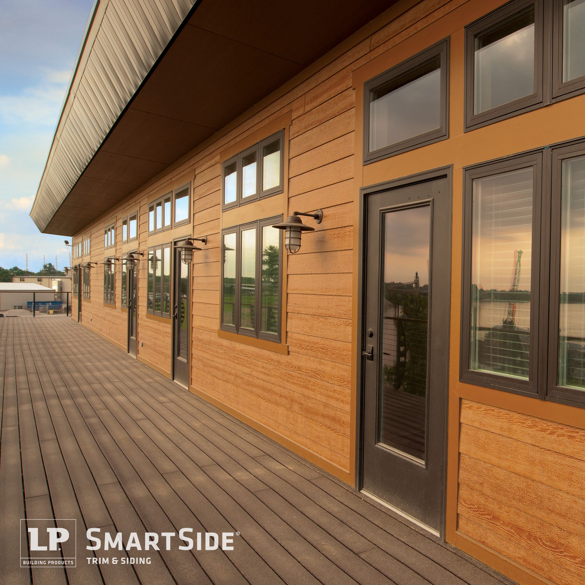Lp smartside trim and siding products aren 39 t just for for Smartside engineered wood siding