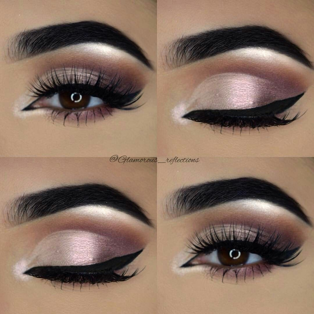 Wedding day makeup look for brown eyes Day makeup looks