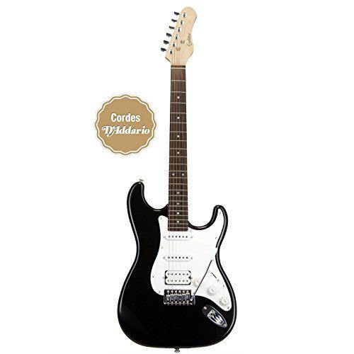 EAGLETONE SUN STATE HSS NEGRO Guitarras eléctricas Stratocaster 108,93€  3,9 kg ;