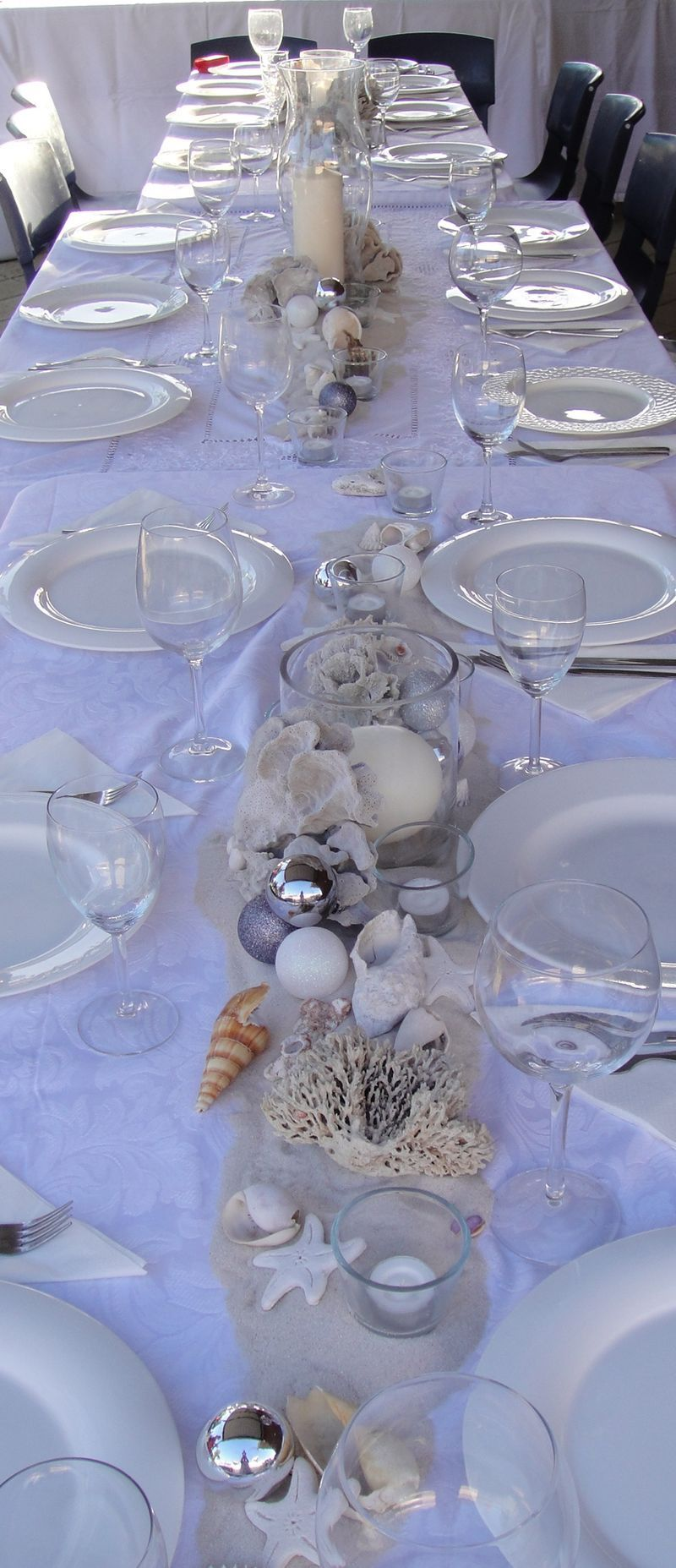 Happy Holidays With Images Beach Table Decorations Beach