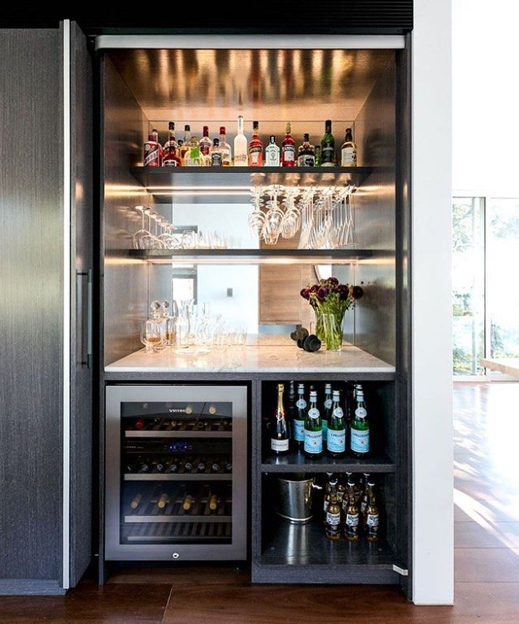 Mademeasure On Instagram Point Piper Residence Bar Design And Joinery By Bondikitchens Features Our Wrapped Home Bar Rooms Modern Home Bar Home Bar Decor