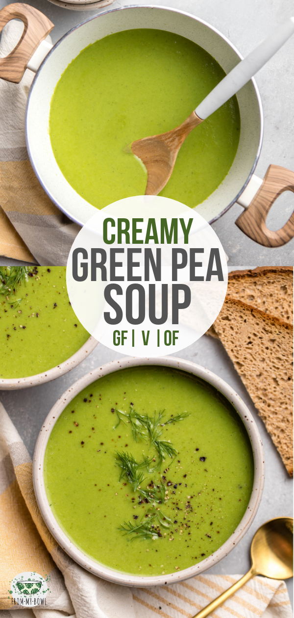 Spring Pea Soup Recipe In 2021 Pea Soup Food Network Recipes Soup Recipes