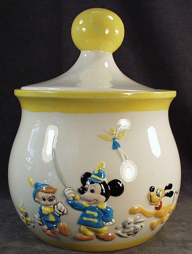 Disney Cookie Jars For Sale Vintage Disney Cookie Jar With Mickey And The Gang  Walt Disney