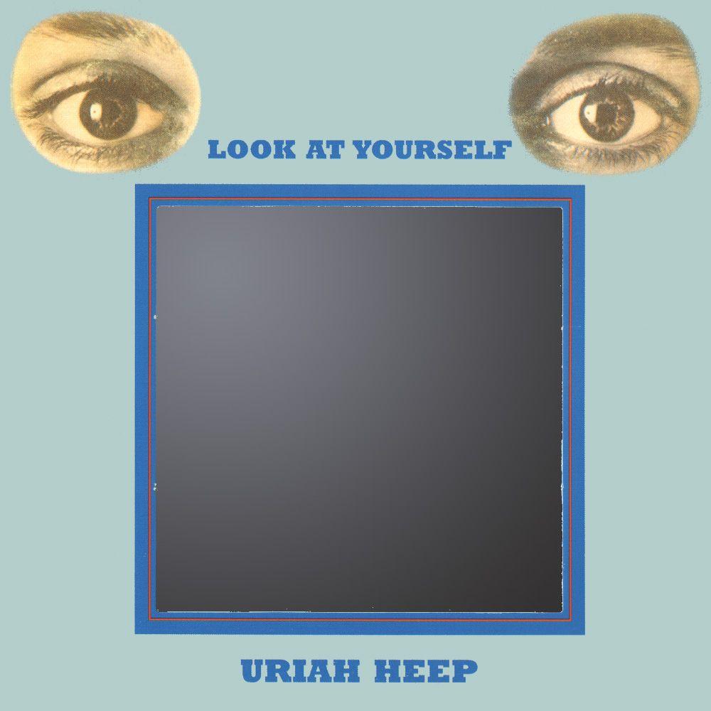 Uriah Heep - Look   Music album covers   Album covers, Uriah, Album a2d15a4348c