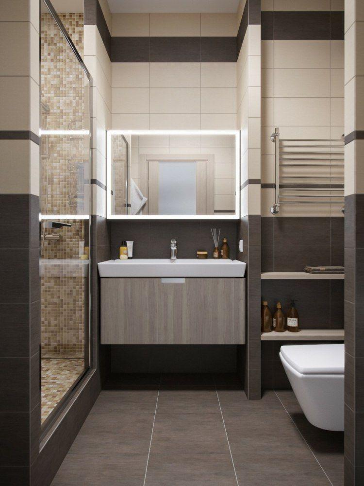 Déco appartement petit espace idées design et modernes - decoration salle de bain moderne