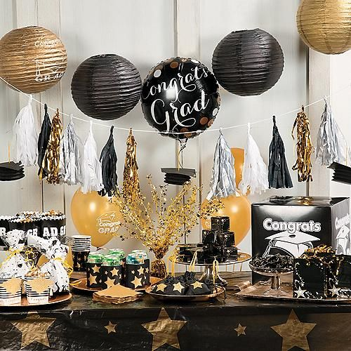 celebrate your grad with party decorations that set the stage for a memorable graduation party - Graduation Party Decoration Ideas