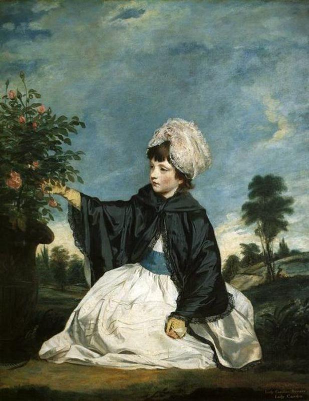 Lady Caroline Howard. Reynolds. Neoclasicismo. S. XVIII.