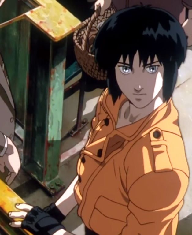 Major Motoko Kusanagi Ghost In The Shell Ghost In The Shell Anime Ghost Motoko Kusanagi