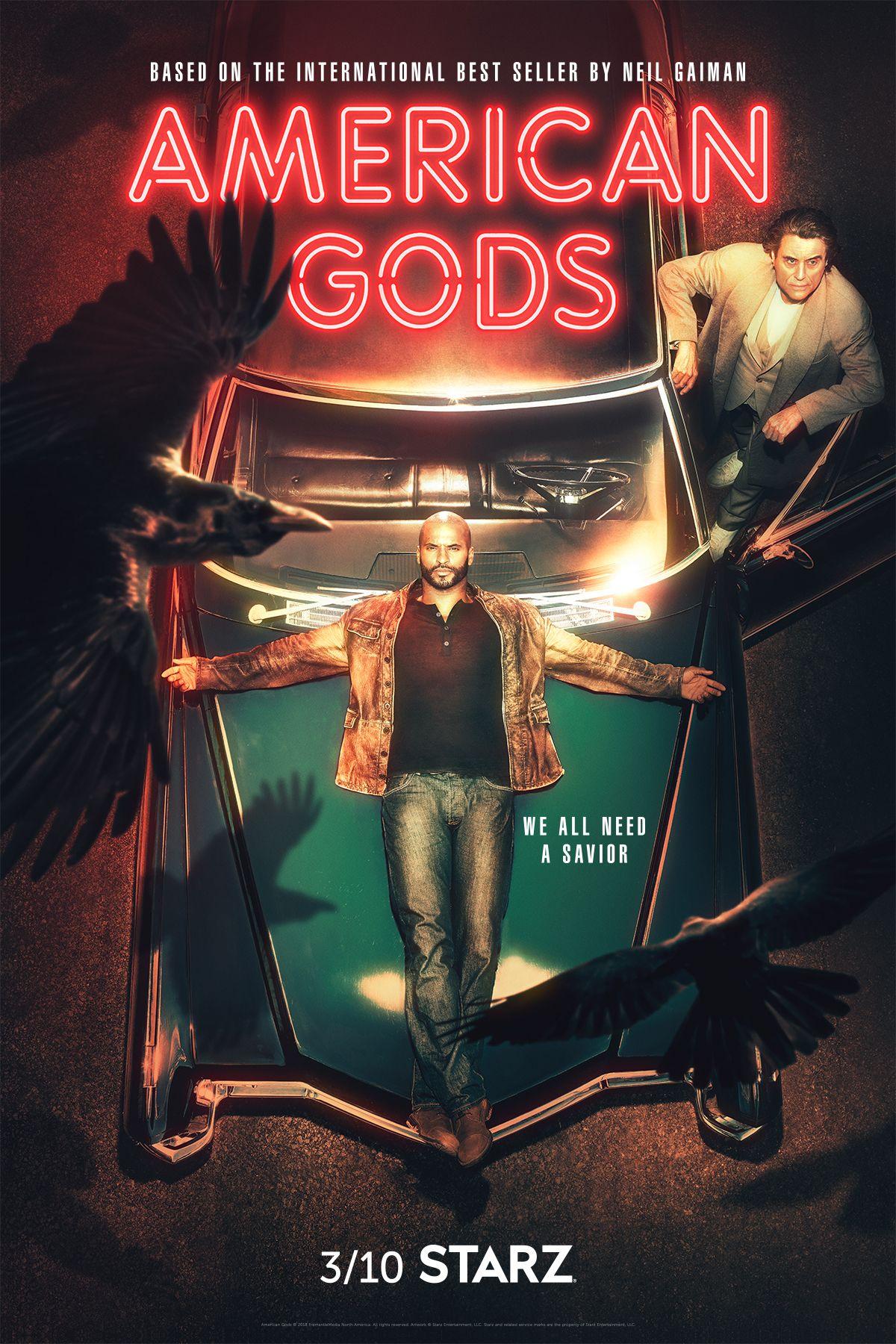 American Gods Finally Gets A Season 2 Premiere Date Deuses