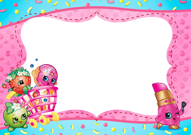 Шаблоны открыток для детских приглашений