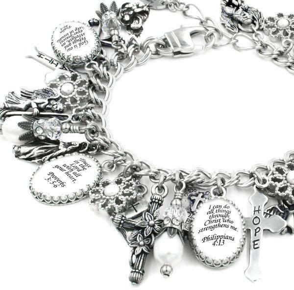 Bible Verse Jewelry, Scripture Bracelet   God Knows You