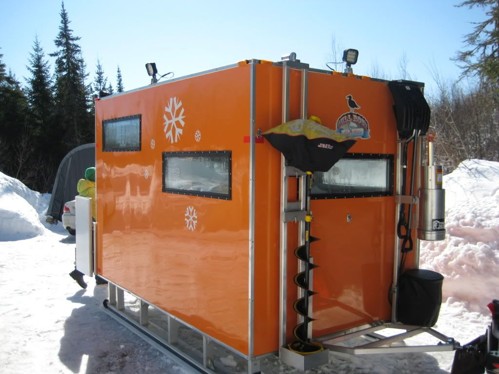 maine ice fishing shelter sno pro - Google Search | Fishing