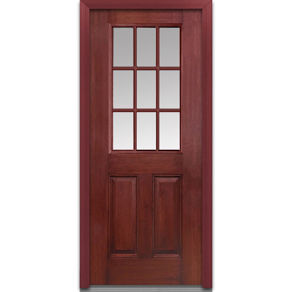 Interior 2 Panel Door Palazzo Series Masonite Interior Doors Doors Interior Interior Exterior Doors
