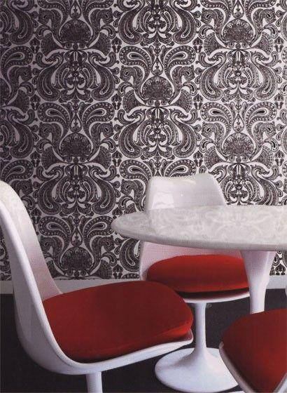 Tapete Malabar - Designtapete von Cole and Son 1269 Sons - retro tapete wohnzimmer