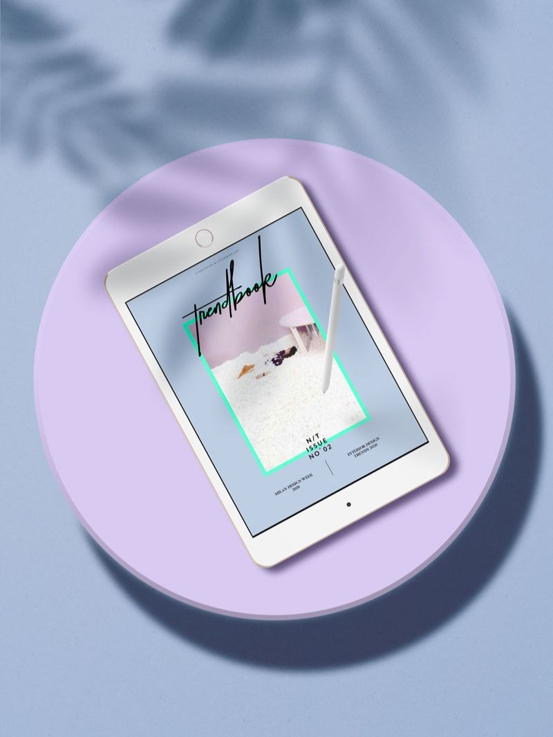 N/T # 2 is an eBook with the Latest Trends in Interior and Design, as seen at #milandesignweek 2019.  To last in 2020.  The publication is an independent and non-sponsored recap of MDW and a forecast of the upcoming trends in interiors and design for 2020. The eBook consists of almost 200 pages of design news, including a full report about the latest trends spotted in Milan, with a selection of colours, materials, patterns.   #trendbook #interiortrends #colortrend2020