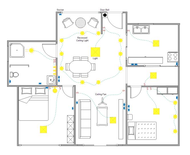Stromlaufplan Beispiele | Grundriss Baupläne | Pinterest | Grundrisse