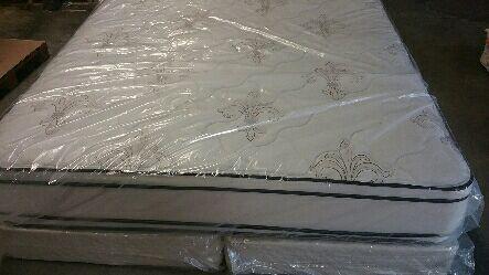 new san pedro double sided king pillow top mattress set