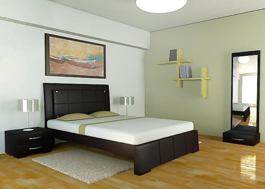 Camas minimalistas en madera ideas para el hogar for Recamaras individuales modernas