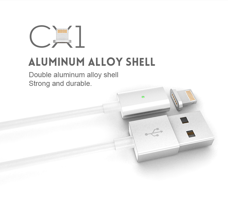 Magnetic Apple Cable for Lighting(5C/5S/6/Plus/iPad) | loepower ...
