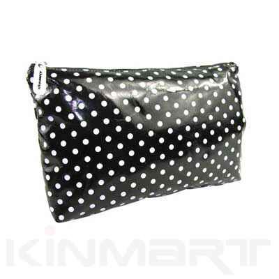 Supplying this polka dot cosmetic bag, available multi styles  Check details at: http://www.kinmart.com/Custom-polka-dot-cosmetic-bag-KM6597.158.htm?colorid=8