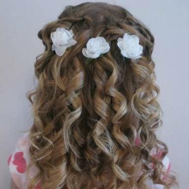 Hairstyles For Little Girls Pinlynda Correa On Peinados Niñas  Pinterest