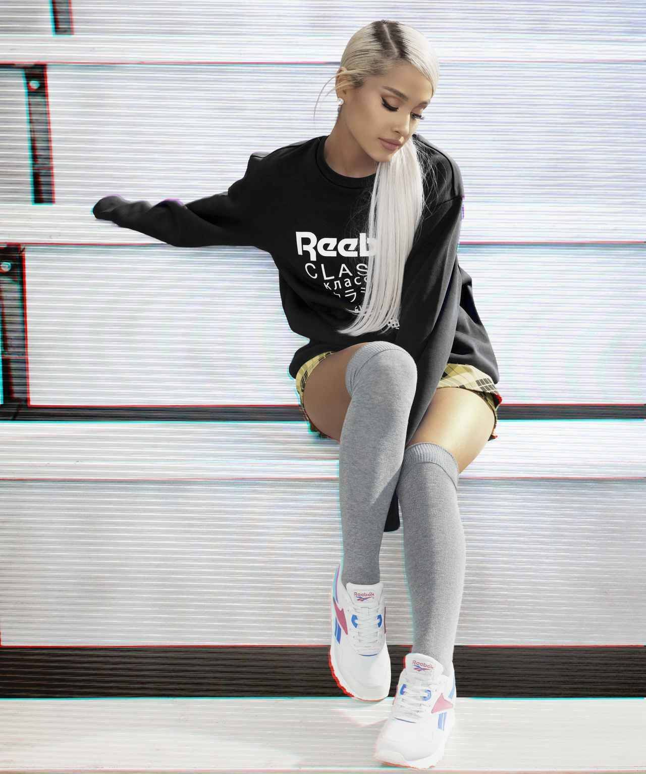 """arianarares  """" HQ Ariana Grande photographed for Reebok Classic Campaign ( 2018) """" 90ee4b53c"""