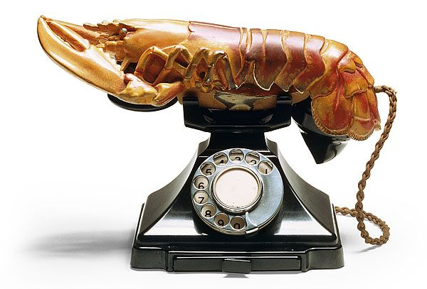 Lobster Telephone aka Aphrodisiac Telephone - Salvador Dali (1936)