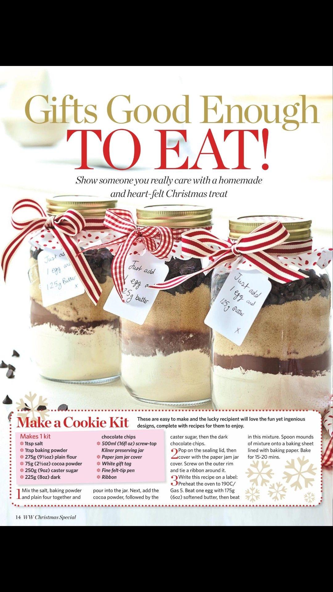 Cookie kit baking kit diy food recipes food gifts