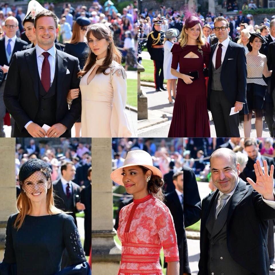 suits cast at the royal wedding suits series suits usa suits tv shows royal wedding suits series suits usa