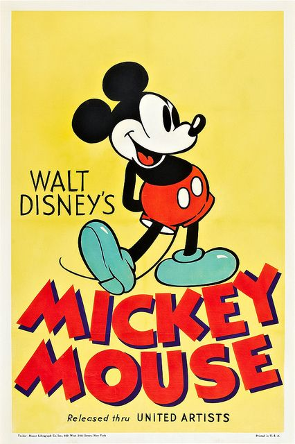 Buy Walt Disneys Mickey Mouse Movie Posters From Poster Shop Were Your Source For New Releases And Vintage