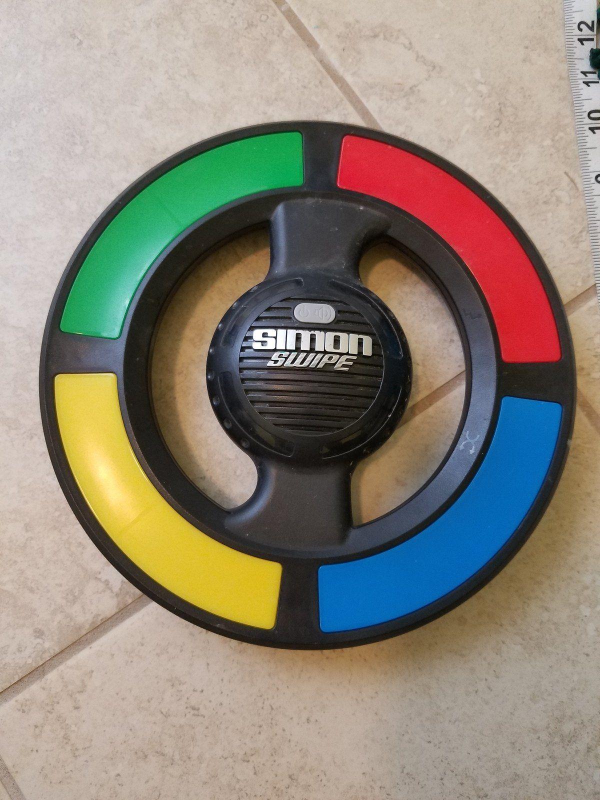"""Simon Swipe"" Game by Hasbro (Gently Used) Hasbro, Games"