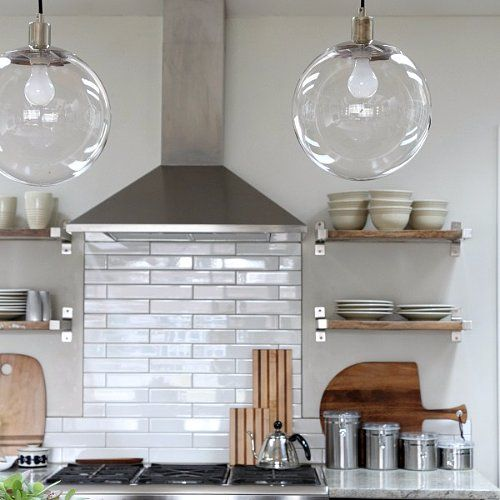 Sparkling Clean Kitchen: An Easy Trick For Keeping Light Fixtures Sparkling Clean