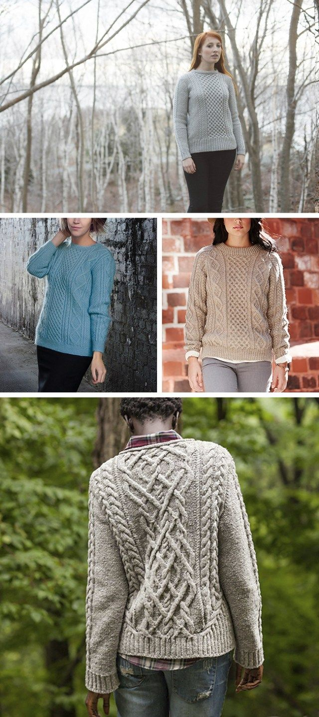 Best fisherman sweater patterns | Aran knitting patterns ...
