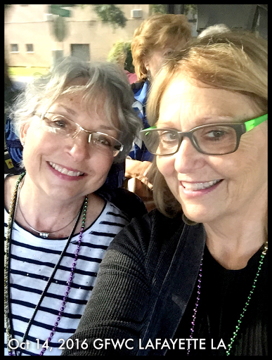 Members have fun at the South Central Region Conference in Lafayette, Louisiana.
