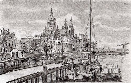Pencil Drawing City Google Search Scenery Paintings City Drawing Pencil Drawings
