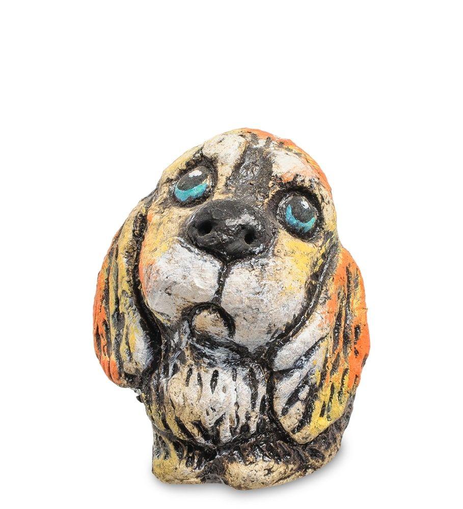Фигурка «Щенок» шамот KK-548 | собаки | Собака рисунки ...