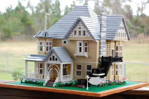 Lego Model Based On The House From Coraline Lego House Lego Creations Lego Building