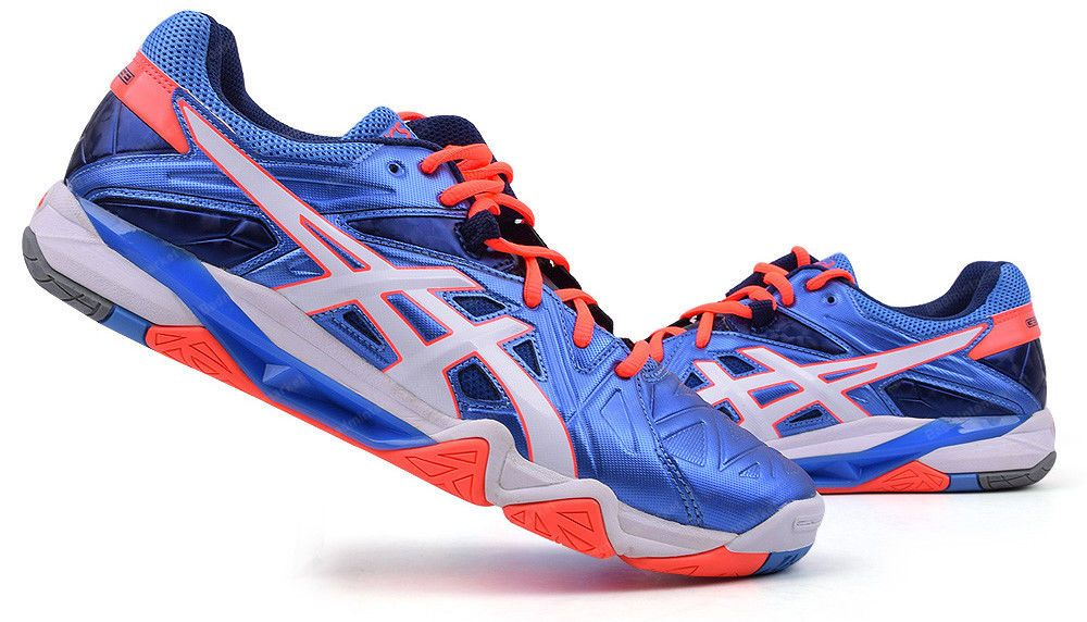 ASICS GEL SENSEI 6 Unisex Badminton Shoes Squash Indoor Sport Blue  B552Y-4701 cf8b79317a2