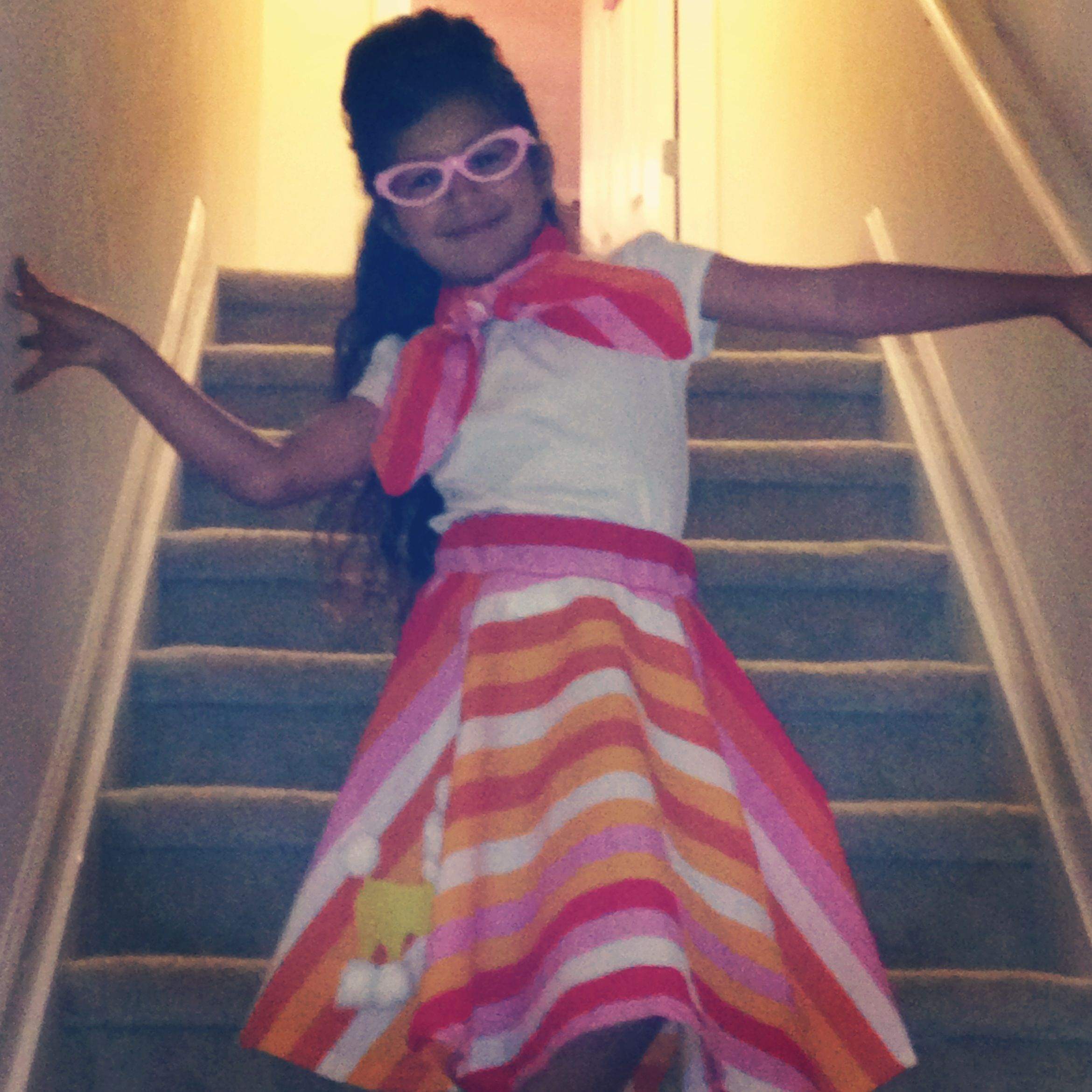 Bella S 50 Outfit For 50th Day Celebration At School