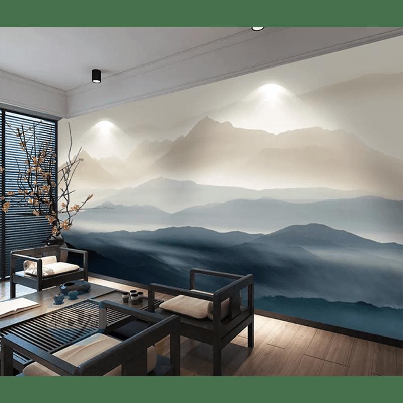 3D Wallpaper Deep Mountain 1433 Wallpaper Mural Wall Mural Wall Murals Removable Wallpaper   Buy Wallpaper & Decals - 4318474