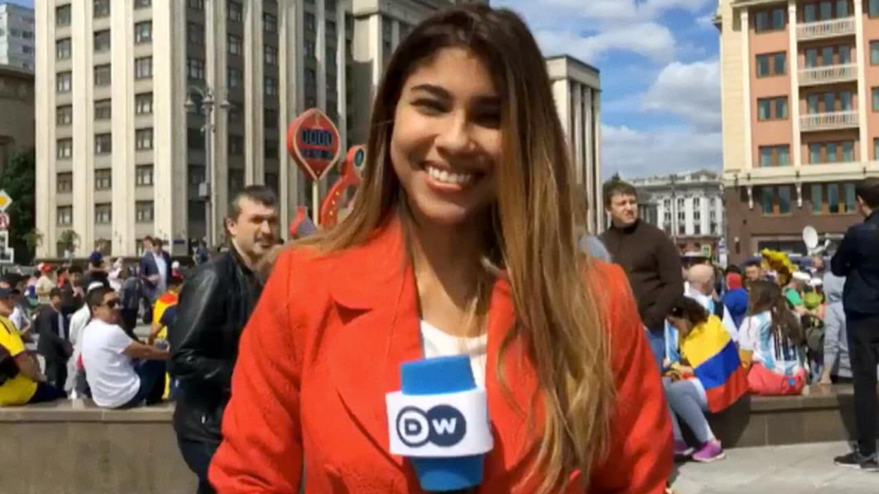 A woman sports reporter was sexually harassed at the World