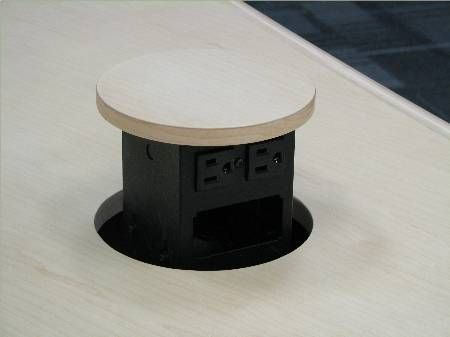 Pop Up Outlets   Office Wall Idea. Kitchen Desks ...